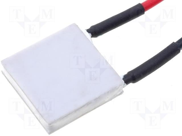 PELTIER ELEMENT TEC1-12706 Пелтиер 40x40x3.8mm 15.4V 6A 53.3W R=1.98R